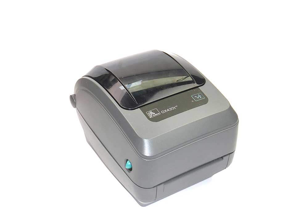 Barcode Printers | Zebra GX430T High-Resolution Thermal Transfer Desktop Printer