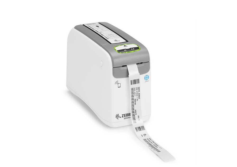 Barcode Printers | Zebra ZD510-HC Wristband Printing Solution