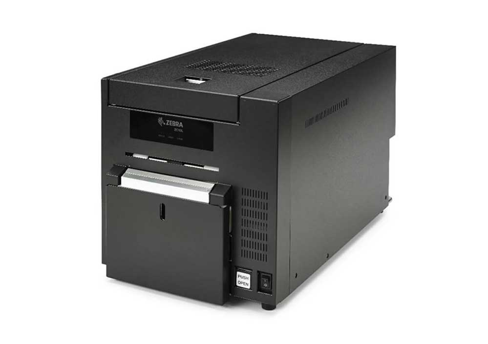 Barcode Printers | Zebra ZC10L Large-Format Card & Badge Printer