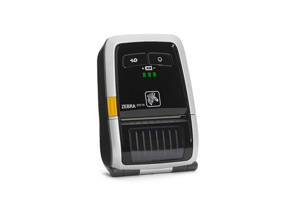 Barcode Printers | Zebra ZQ110 Mobile Printer