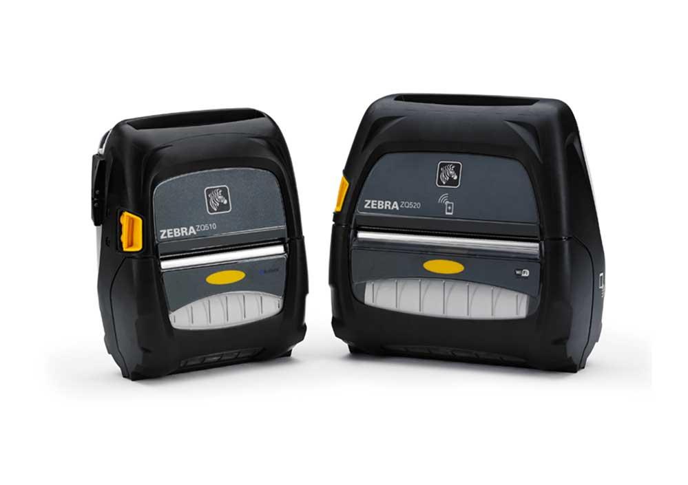 Barcode Printers | Zebra ZQ500 Series Mobile Printer
