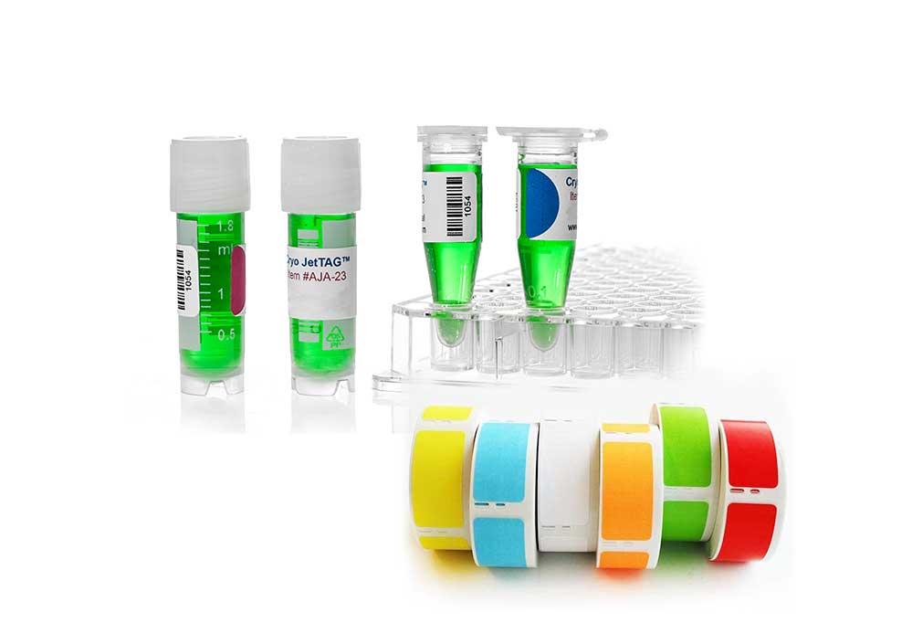 Barcotech Printing Consumables | Cryo-Tag Labels