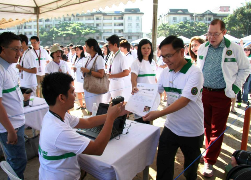 Barcotech Event Services | Most people to sign up as organ donors – World Guinness Record – Feb 28, 2014 PUP Sta Mesa, Quezon City Circle, La Union, Davao, Tuguegarao & Naga
